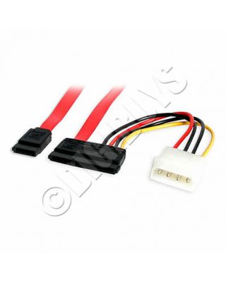 SATA Combined Combo 2in1 Data and Power Cable