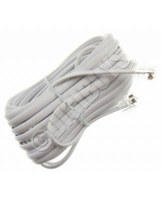 5M Meter RJ11 to RJ11 RJ-11 BT ADSL Broadband Modem Router Cable Long Lead