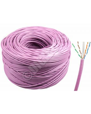 305M 100% Pure Copper CM IN WALL RATED CAT6 REEL ROLL UTP NETWORK CABLE GIGABIT