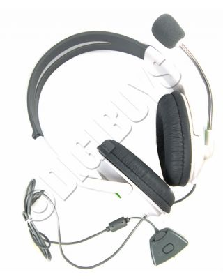Deluxe Headset Headphones Earpohones with Microphone for Xbox360 XBOX 360