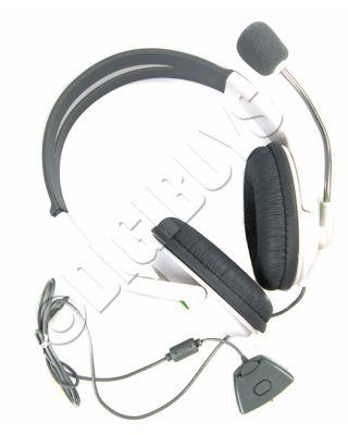 Deluxe Headset Headphones Earpohones with Microphone for Xbox360 XBOX 360