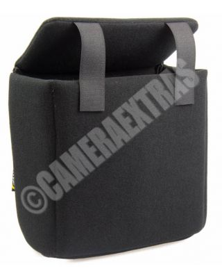 Fancier Colour Shell 30 Black DSLR Camera Lens Protector Case any Bag Rucksack