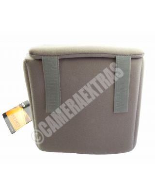 Fancier Colour Shell 20 Grey DSLR Camera Lens Protector Case any Bag