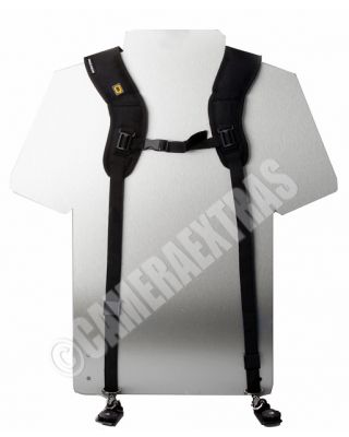 Capa DOUBLE TWIN Ergo Strap Shoulder Sling for DSLR Cameras Canon Nikon Sony