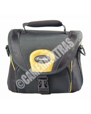 Fancier Polo 50 DSLR Camera Shoulder Bag Case Holder Lens Canon/Nikon