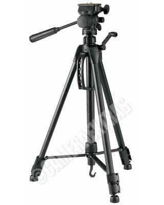 Fancier WT-3950 Quality Camera/Camcorder Light Travel Tripod + Pan-Tilt Head