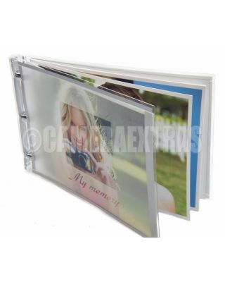 "4x6"" DIY Photo Book Photobook Album Frosted Cover Kit Software Glossy Paper"