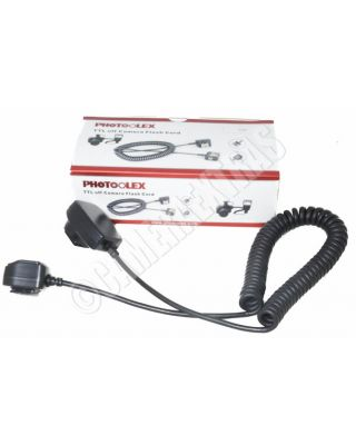E-TTL Off Camera Flash Extension Sync Hot Shoe Cord Cable for Canon 580EX/430EX
