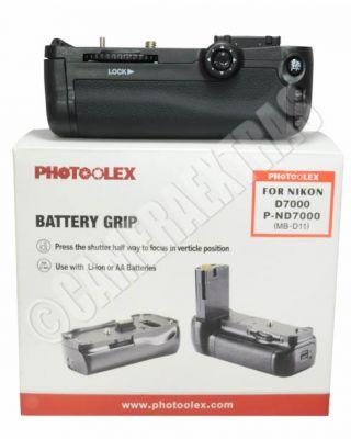 Vertical Battery Grip + IR Remote Control for Nikon D7000 EN-EL15 MB-D11