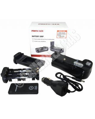 Vertical Battery Grip + IR Remote + CAR CHARGER for Nikon D300/D700/D900 MB-D10