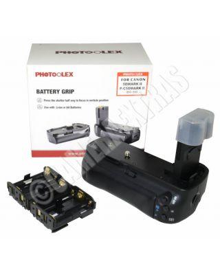 Photoolex Pro Vertical Battery Grip for Canon EOS 5D Mark Mk 2 II Mk 3 BG-E6