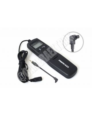LCD Timer/Interval Remote Canon EOS 5D Mark II/7D/20D/30D/40D/50D/20D/1D RS-80N3