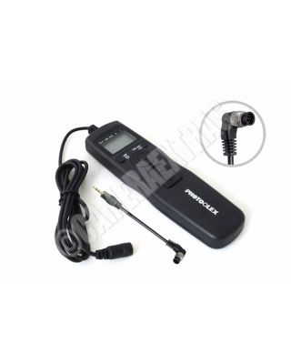 LCD Timer/Interval Remote for Nikon D3X/D3/D700/D300/D2/D2X/D2s/ D200 MC-30/36