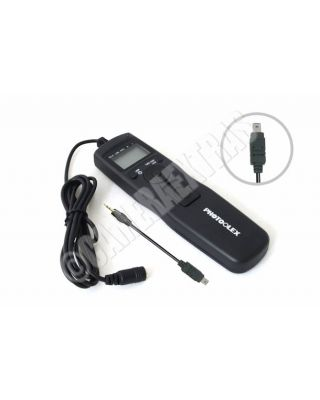 LCD Timer/Interval Lapse Remote for Nikon D90/D5000/D7000/D3100/D5100 MC-DC2