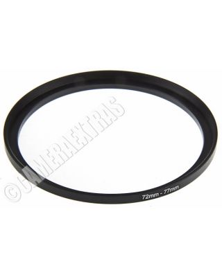 72mm to 77mm Lens STEP UP Stepping Ring Filter Adapter Converter Canon Nikon