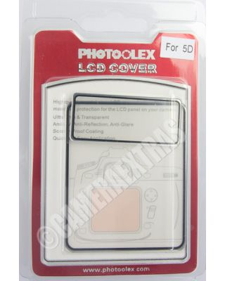 Polycarbonate Rigid Screen Protector Guard for Canon EOS 5D Mk Mark II 2 Kit