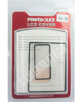 Polycarbonate Rigid Screen Protector Guard Transparent for Canon EOS 7D