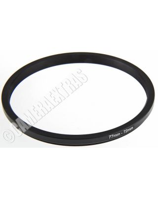 77mm to 72mm Lens STEP DOWN Stepping Ring Filter Adapter Converter Canon Nikon