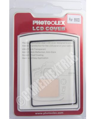 Polycarbonate Rigid Screen Protector Guard Transparent for Canon EOS 550D