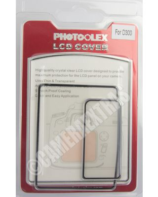 Polycarbonate Rigid Screen Protector Guard Transparent Clear for Nikon D300
