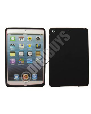 Black Silicone Protection Soft Case Cover for Apple iPad MINI Skin Slim Design
