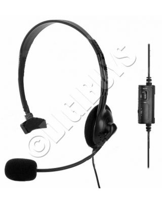 Wired Headset Headphones Earphones Microphone Mic for Playstation 4 PS4