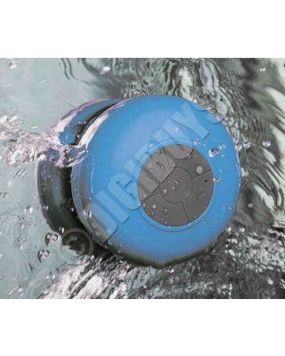 Waterproof Bluetooth Wireless Postable Speaker Bathroom Shower - Blue
