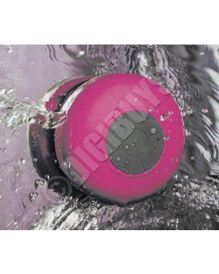 Waterproof Bluetooth Wireless Postable Speaker Bathroom Shower - Pink