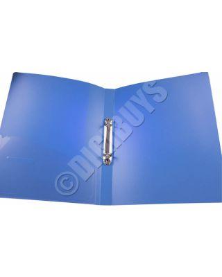 A4 Ring Binder 2 Ring 25mm Folder Document Wallet Storage Dark Blue