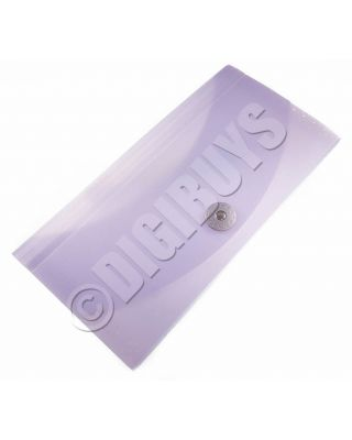 Expanding File Organiser Folder Wallet Receipts Paperwork Filing Coloured Tabs - Purple/Lilac