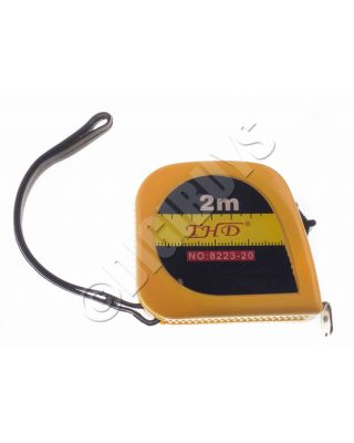 2M Tape Measure Measuring Tape Pocket Mini 6ft Compact UK