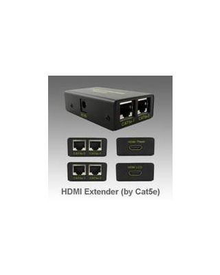 HDMI Over CAT5/6 Cable Extender 60M Blaun Adapter
