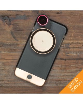 Ztylus Metal Case + RV-2 Revoler Lens Kit for iPhone 6/6S -  Rose Gold Limited Edition